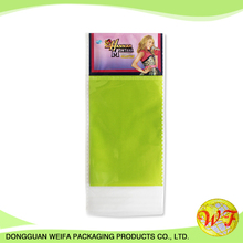 Cardboard Header Bags Weifa PO Header Bags For Daily Packing With Good Quality