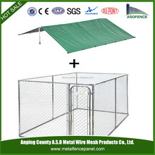 China wholesale portable dog kennel bowls / Chain Link Portable Kennel / Chain Link Portable Outdoor Pen (factory)