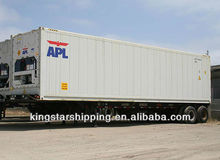 20'RF40RF Reefer Container to Christchurch New Zealand