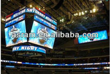 Alibaba cn com Shenzhen Asram LED P10 indoor RGB led display screen for basketball full color video advertisement