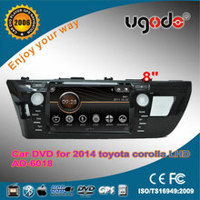 ugode Android Wince Toyota Corolla Car Media DVD GPS Player