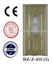 Imitação de cobre com acabamento de metal da porta de vidro hz- z- 41c(3)