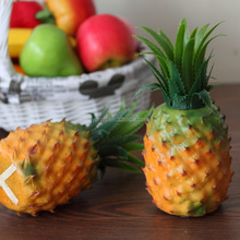 Artificial fake plastic pineapple fruit for decoration