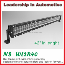 "NSSC ip68 40"" 240w double row 4x4 12 volt led light bar for Automobiles & Motorcycles"