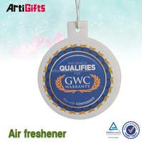 High performance football shoes paper car air freshener