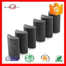high quality permanent tile ferrite magnet motor