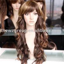 Charming yong lady's silk top wig