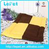 Large Small Pet Dog Puppy Cat Soft Fleece Warm Nest Bed Plush Pad Cotton Mat Set