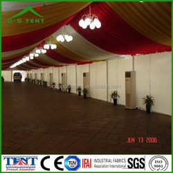marquee wedding canopy drapery