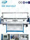 """Dawei DW80LF 80 """" Automatic totalmente Jacquard tipo suéter de tricô máquina computadorizada plano alta Efficience máquina"""