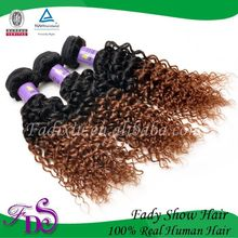 High quality hot selling beauty original human T1B-33 hair jerry curly