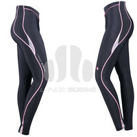 Hangzhou Sobike 2013 Sportswear Sublimated Padded Cycling Tights for Woman