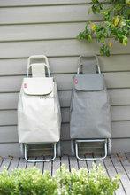 Popular 600D polyester foldable shopping cart shopping trolley bag