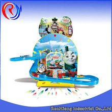 New style plastic orbit train music and light toy