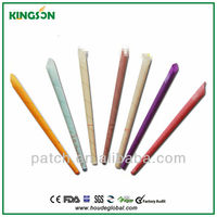 Eight colors and flavor! ear candles for sale, ear candling supplies