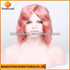 Wholesale grade 6A strawberry blonde human hair wigs full lace wigs carnival party wigs
