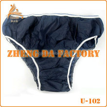 Hot Selling disposable underwear for Spa, hospital, travelling set