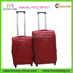 Hot Sale 20/24/28 3pcs Two Wheels Soft Luggage Sets for Sale