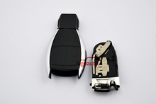 3button remote key smart key with battery holder for mercedes smart key