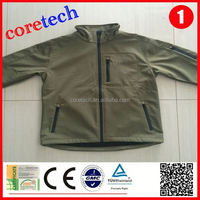 Fashion cheap 10000mm waterproof softshell jacket factory