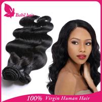 new 2015 alibaba express top grade natural raw unprocessed 100% cheap virgin body wave indian hair