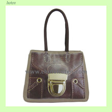 2015 hot selling canvas fashion handbags Competive price handbags