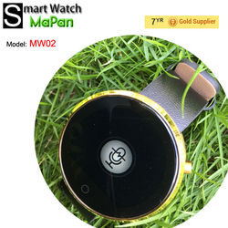 Fashion Consumer Electronics smart watch MaPan MW02 , watch can answer phone with speaker