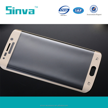 0.2mm Full Cover Perfect Fit Glass Screen Protector Guard for Samsung S6 Edge Plus with High Transparency