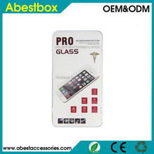 Clear Premium Tempered Glass Screen Protector for iPhone 6, with Retail Package Anti-Scratch Anti Shatter Glass Protector