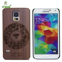 Hot Selling High Quality Mobile Phone Shell For Samsung Galaxy S5 Cover Wood Case