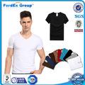 Comercio al por mayor de camisetas de algodón modal últimos diseños de la camisa para los hombres