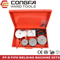 Plastic Pipe Heating Welding Tools/Welder Machine Set