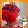 Chapéu do bebê toddler/meninas flor chapéu/chapéus de crochê infantil sfuh- 073