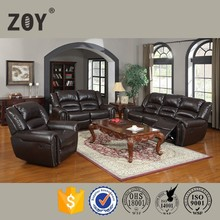 Zoy Luxury Modern Style Used Bonded Leather Functional Sofa Sets For Heavy People 95960