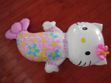 PVC promotion inflatable kitty toy,inflatable kitty toys