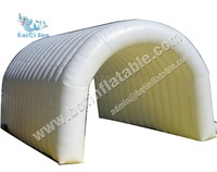 White PVC Inflatable tunnel tent