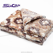 2015 luxury flannel Electric heating Pad, flannel small Electric blanket pad, portable electric heating pad
