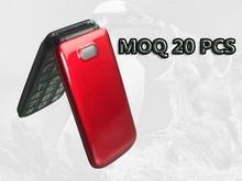 100% original C13 MTK6260/6261 2.4inch Elder People Mobile phone Big keyboard phone