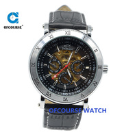 Chinese mechanical watch new design relojes chronograph automatic watch hot selling on alibaba spain