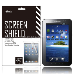 Hot Sale Tablet Pc accessories for Samsung galaxy tab gt-p1000 screen protector / screen guard oem/odm