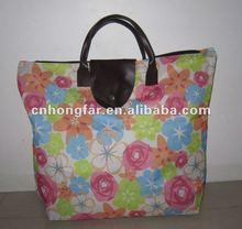 full color printing women tote bag