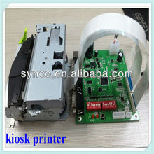 Synco 80/82mm installed high speed mechanism, a control board integrated Kiosk thermal receipt printer