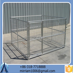 Large outdoor strong hot sale strong fabulous dog kennel/pet house/dog cage/run/carrier