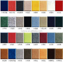 Thickness 9mm sound absorbing panel polyester fiber acoustic panel