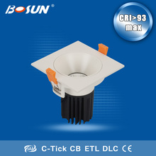 factory direct china adjustable recessed square led downlight retrofit competitive price led light downlight