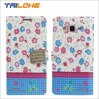 China factory supply universal flip paint leather case for phone