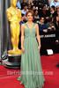 Maria Menounos Fashion Prom Dress 2012 Oscar Awards Red Carpet Blackless Celebrity Dresses