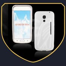 High quality mobile Phone Skin Tpu case for Galaxy S4 mini i9190