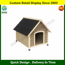 Pet Dog Kennel House Extra Large Timber Wooden Log Cabin Wood Indoor Outdoor YM6-499