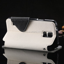 Luxury PU Leather Wallet Case Phone Cases Stand Wallet Card Holder Cover For Samsung Galaxy S4 I9500